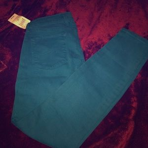 NWT 💖Lucky Brand 💖Skinny Jeans in Teal size 2/26